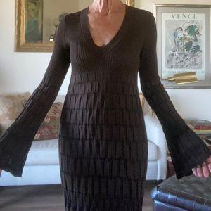 Vintage MISSONI Bell Sleeved Dress Size 42/6/Med